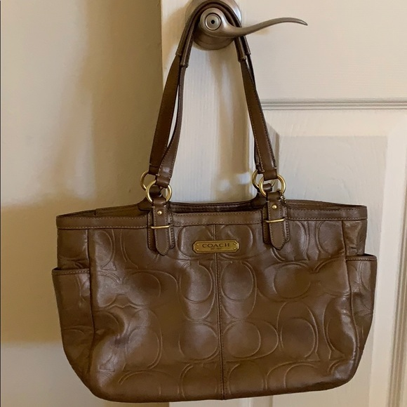 Coach Handbags - Brown coach purse